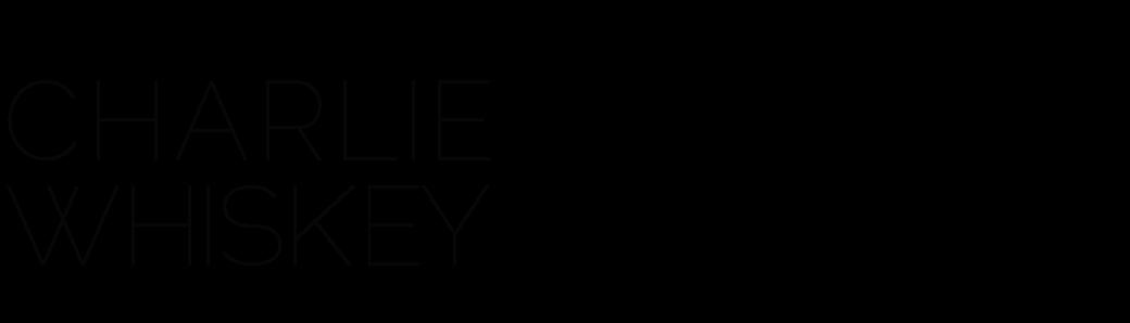 Charlie Whiskey Design logo